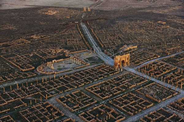 Buried In Sand For A Millennium: Africa's Roman Ghost City