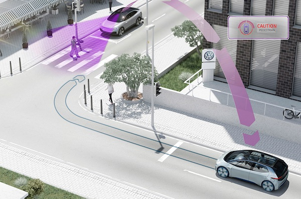 VW Car2X: Networked Driving Comes To Real Life