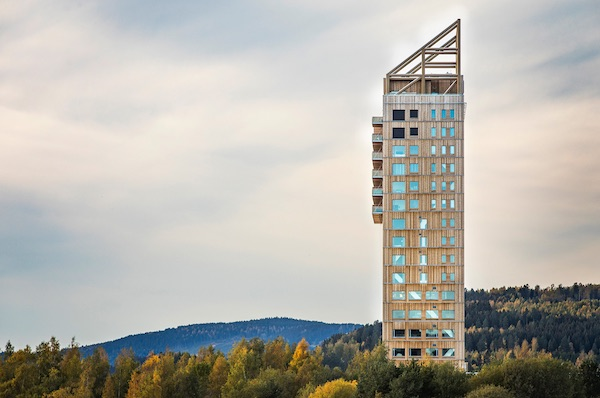 World's Tallest Wooden Building, Mjøsa Tower By Voll Arkitekter