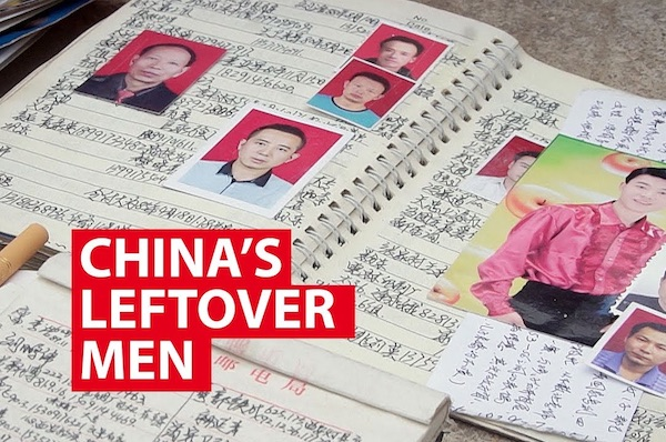 China's Leftover Men: Desperately Seeking Wives