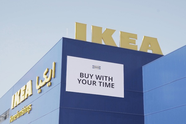 IKEA Let Customers Pay With Their Time Instead Of Currency