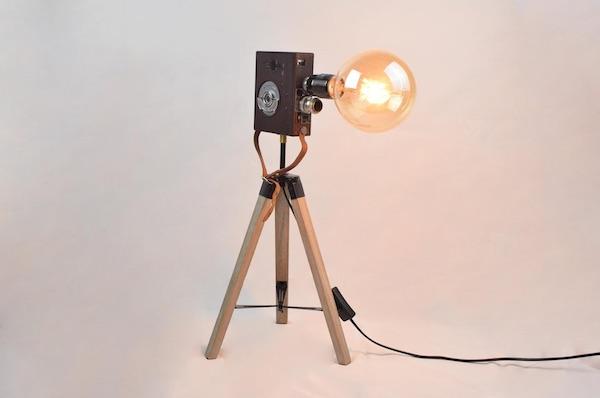 Fernande Pathé Vintage Lamp
