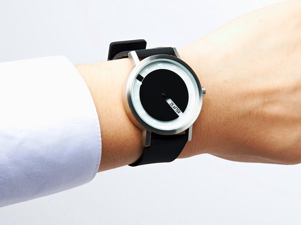 Projects Stainless Steel & Silicone Till Watch