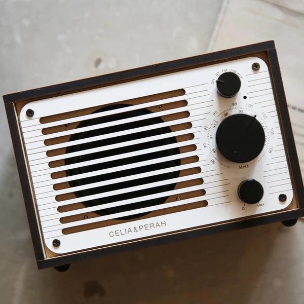 Celia & Perah DIY Bluetooth Classic Radio