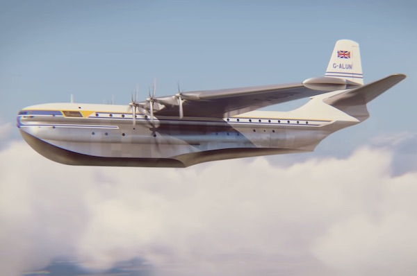 What Happened To Giant Flying Boats? The Saunders-Roe Princess Story