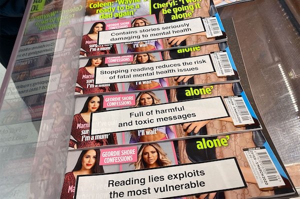 Creatives Call For Mental-Health Warnings On 'Toxic' Magazines