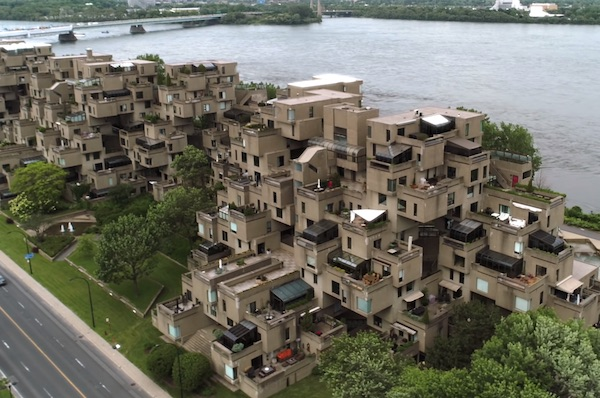 Habitat 67 Stacks 354 Prefabs That Get Urban/Suburban Balance