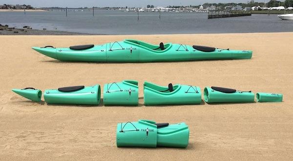 Pakayak Bluefin 14 Ft Hardshell Packable Kayak