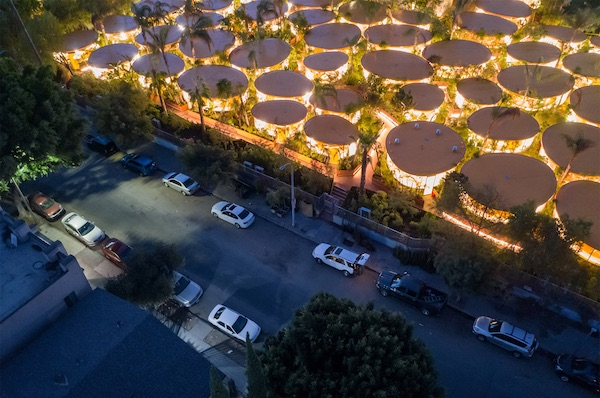 Architects Turn Empty Parking Lot Into Los Angeles's Densest Urban Forest