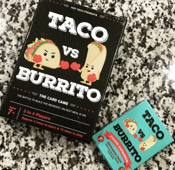 Taco vs Burrito Strategic Card Game