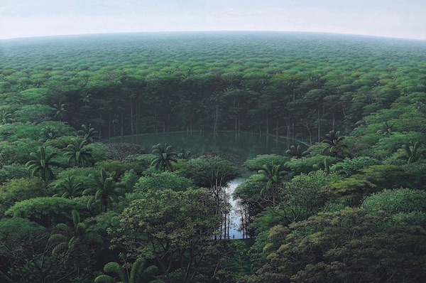 Idyllic Landscape Paintings By Artist Tomás Sánchez Render Nature's Meditative Qualities