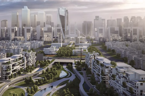 Building Egypt's $58BN New City In The Sand