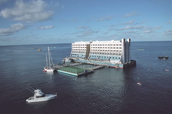 The Story Of World's First Floating Hotel Abandoned In North Korea