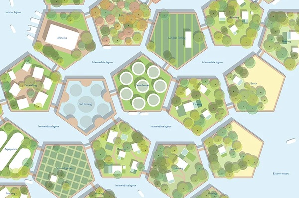 Floating Island System Imagines A Future For The People Of Kiribati