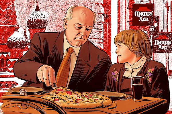 Mikhail Gorbachev's Pizza Hut Thanksgiving Miracle
