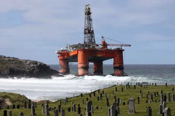 Where Oil Rigs Go To Die