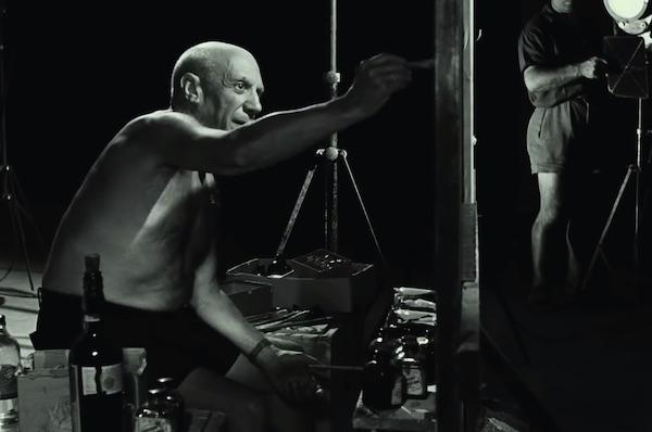 Watch Picasso Make A Masterpiece