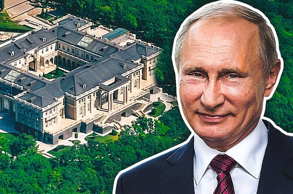 How Vladimir Putin Spends His Billions