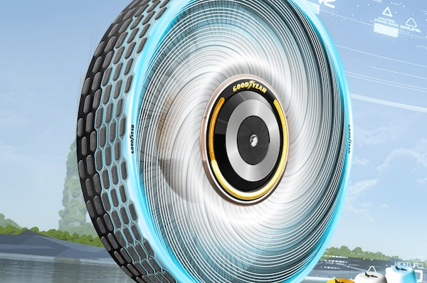 Concept Tyre Repairs Itself On-The-Go