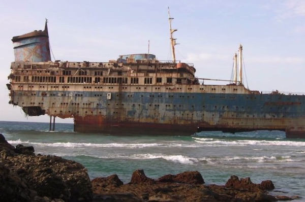 """Abandoned"", The Story Of The S.S America Vessel"