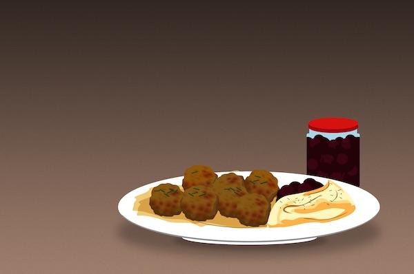 How IKEA Helped Swedish Meatballs Go Global