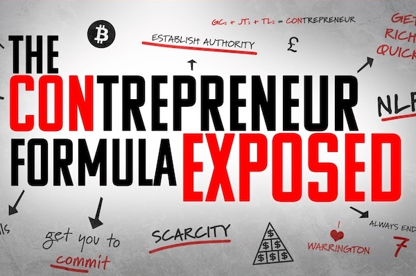 The Contrepreneur Formula Exposed
