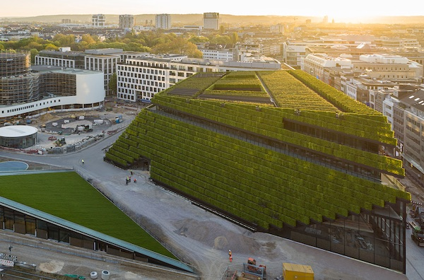 Europe's Largest Green Façade Has Been Completed In Germany